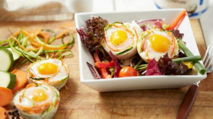 Koolhydraatarme Ei-mandjes | Ontbijt en lunch Recept