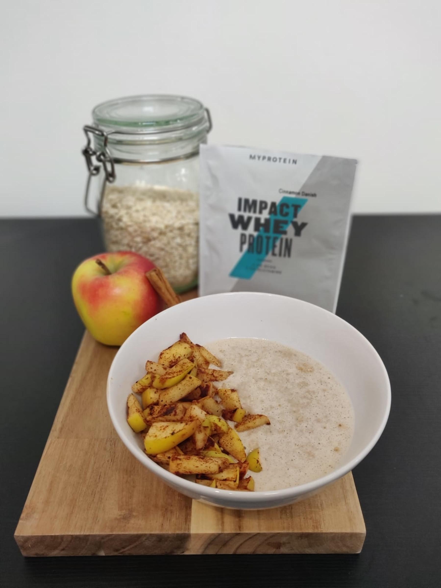 Appeltaart ontbijtje | Eiwitrijk & boordevol Vezels
