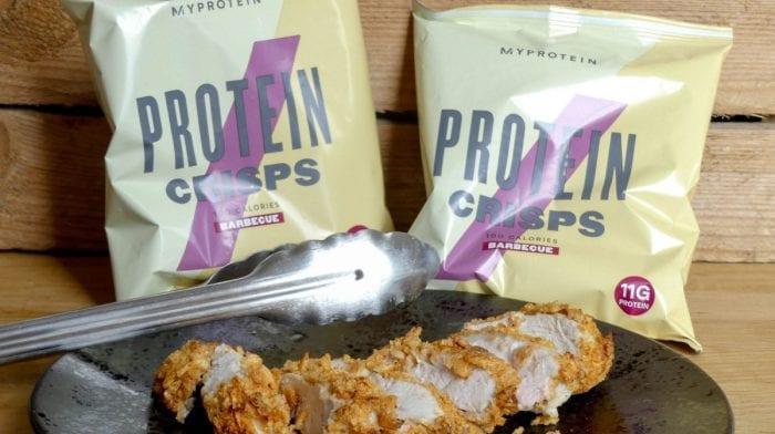 Kip in een jasje van Protein Crisps