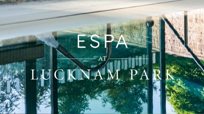 ESPA arrives at Lucknam Park