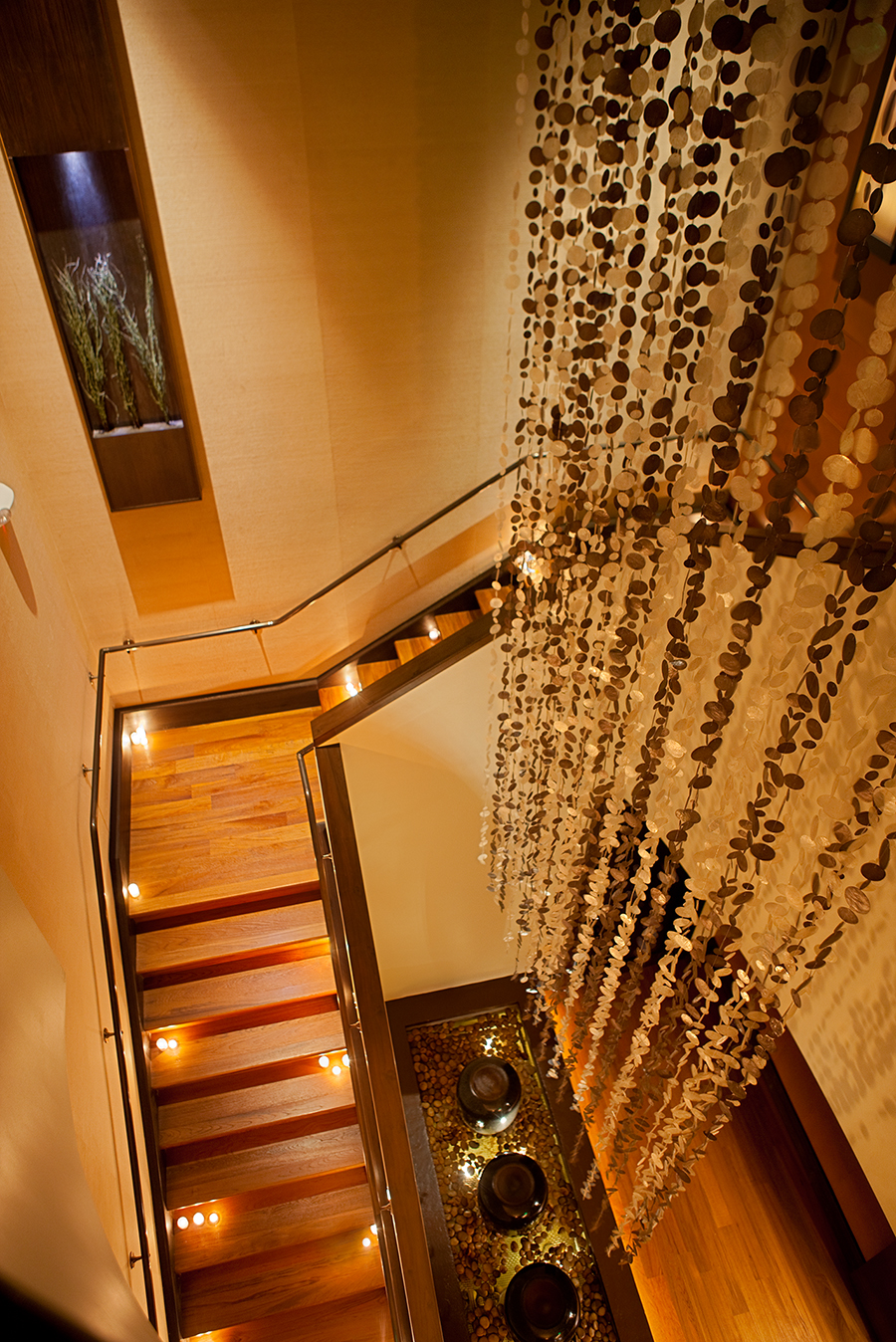acqualina spa stairs