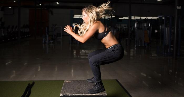 Box jump - exercice fessier