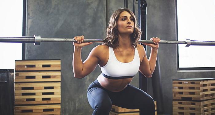 Programme de musculation femme squat