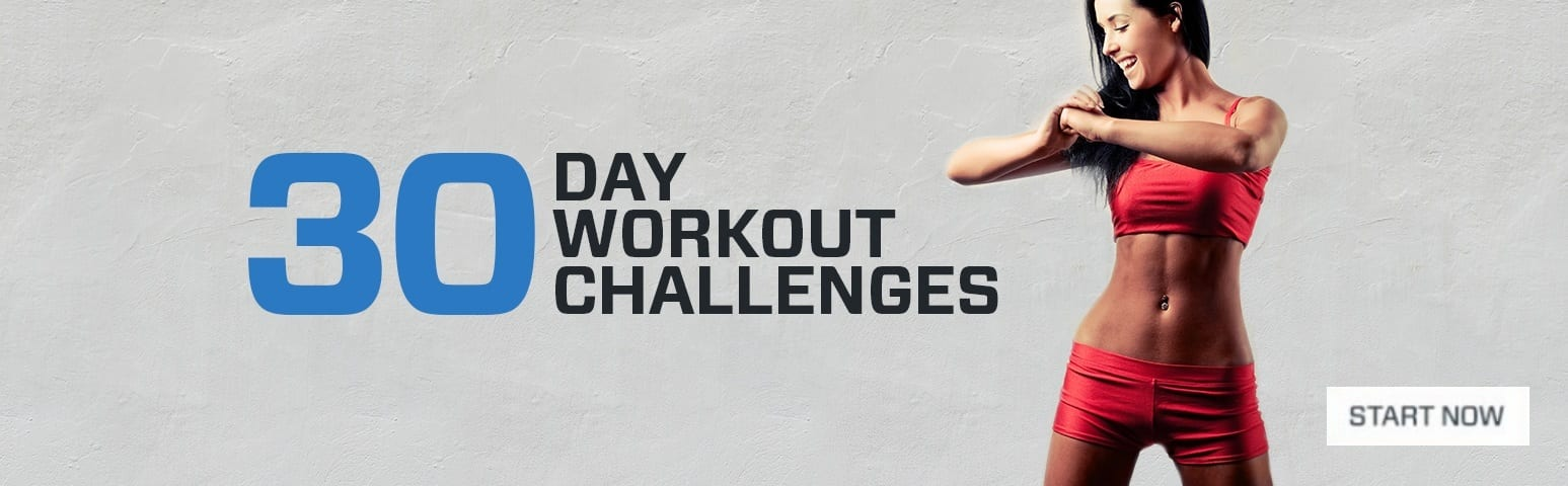 30 day Workout Challenges