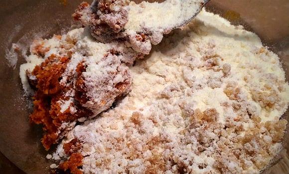 Sweet potato and Quinoa Caramel Protein Flapjack Recipe