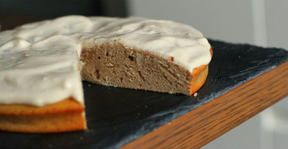 Protein Toffee Apple Cake Recipe