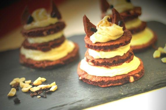 Red Velvet Devil Protein Pancake Stack