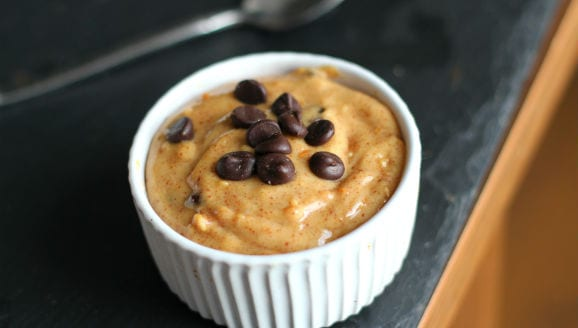 Protein Cookie Dough Pudding