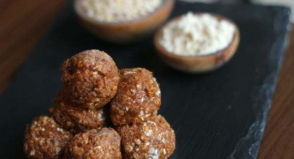 Sweet Potato Protein Balls