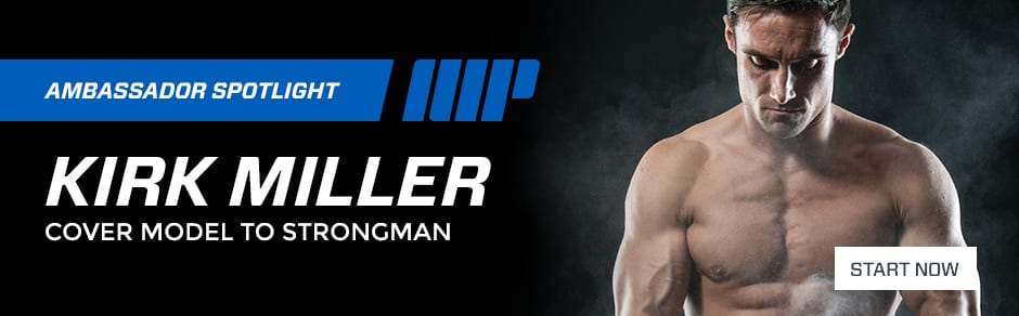 Kirk Miller Cover Model to Strongman