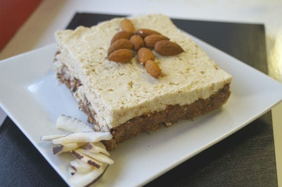 Protein Cheese cake bar - sized