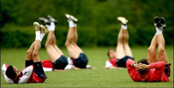 Football weight training