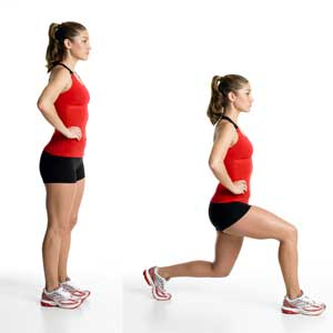 The best bodyweight exercises: lunges