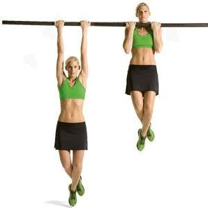 The best bodyweight excercises: Pull ups
