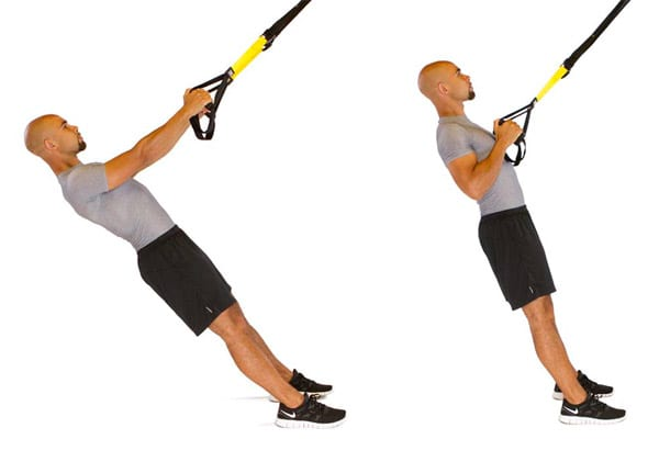 TRX row for beginners