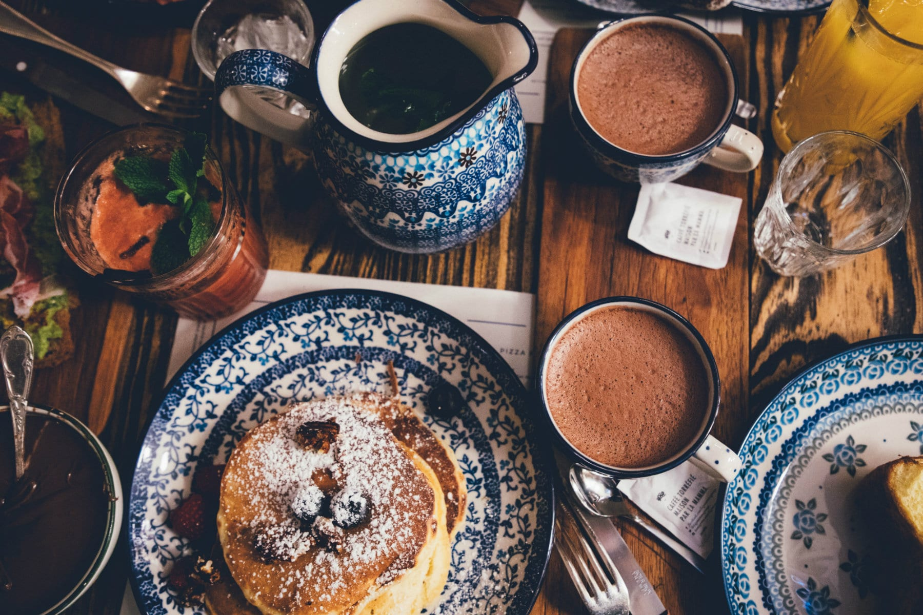 coffee protein pancakes