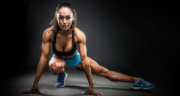 Bikini body post workout