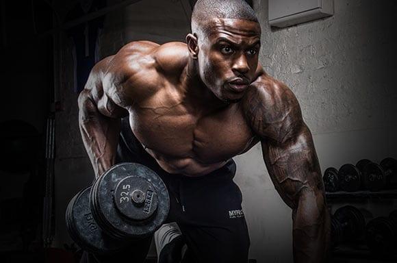 Simeon Panda Back workout