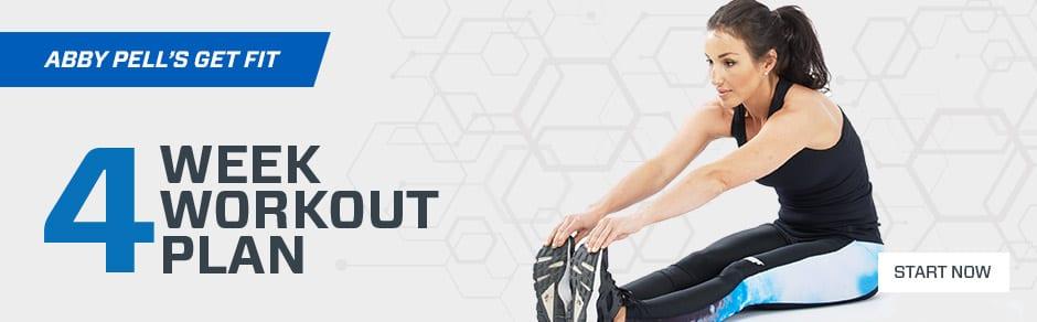 get fit 4 week workout plan