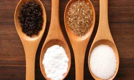 sugar and sweetener