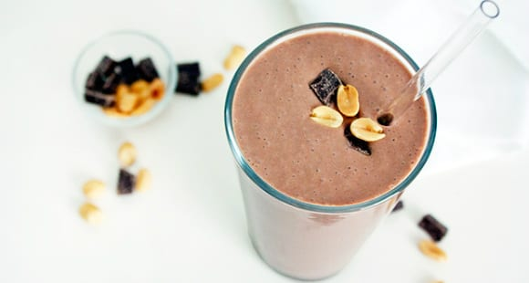 protein shake tour de france recovery
