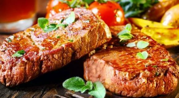 steak cheat meal