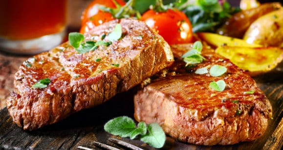 steak healthy cheat meal