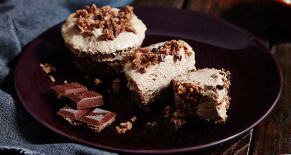 peanut butter choc cheesecake