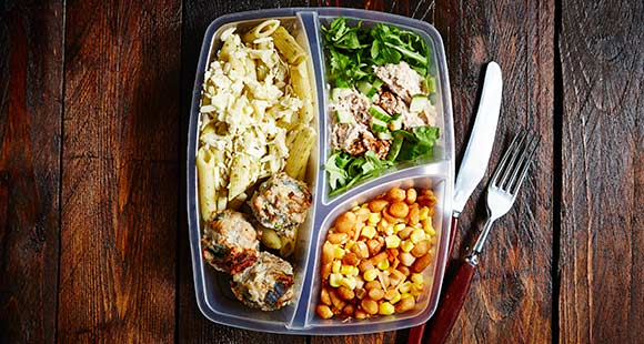 how to put on weight frequent meals
