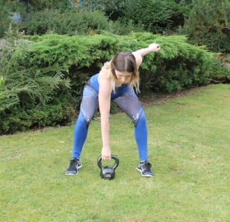 kettlebell snatch form and technique