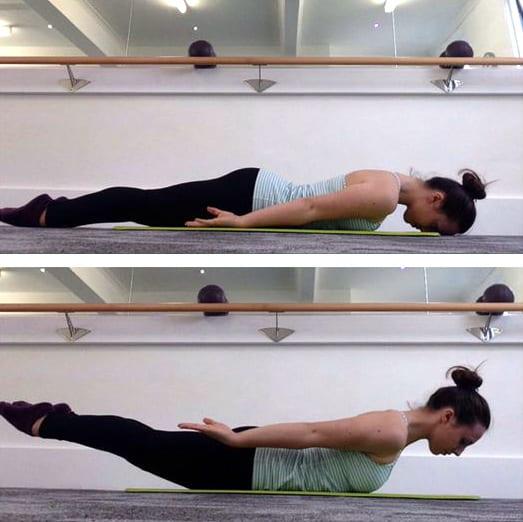 pilates back exercises