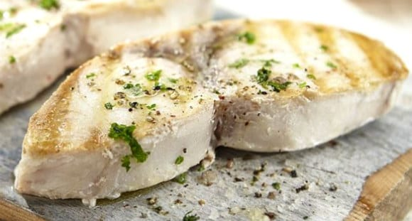 swordfish steaks protein weight cutting foods