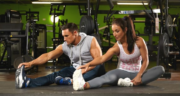 gym buddies cardio motivation