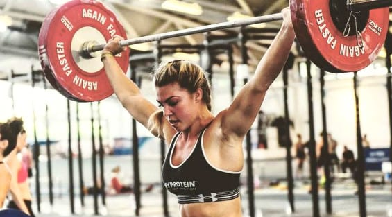 power clean and push jerk functional fitness kara paris halliwell