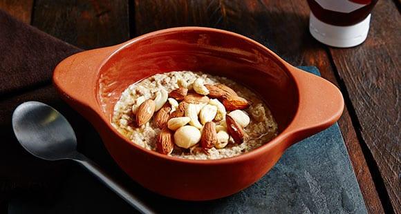 Peanut Butter Porridge reverse dieting