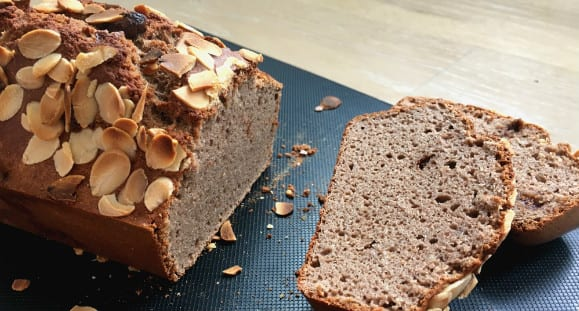 Healthy Banana Bread | Buckwheat Choc-Banana Loaf Recipe