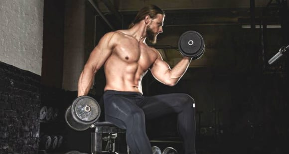 bicep curl mind muscle connection