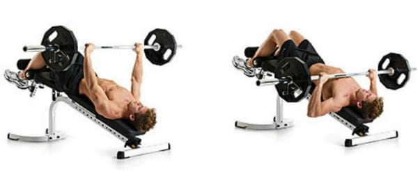 Decline Barbell Bench-Press