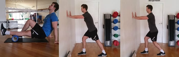 tight calves postural exercises