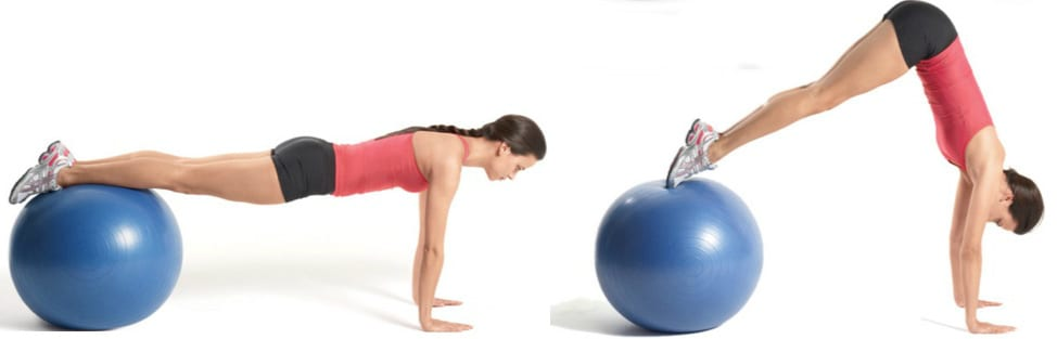fit ball pull in