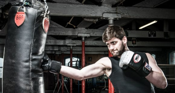 Fighting Fit With 40 Minute Boxing Circuit