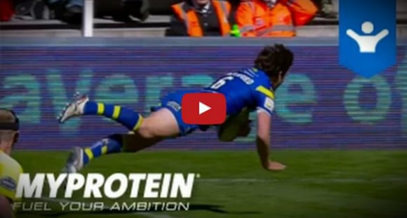 Rugby League Recovery with Warrington Wolves Athlete Stefan Ratchford | Myprotein Video