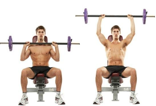 barbell shoulderpress