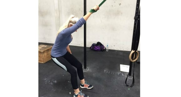 lat stretch resistance bands