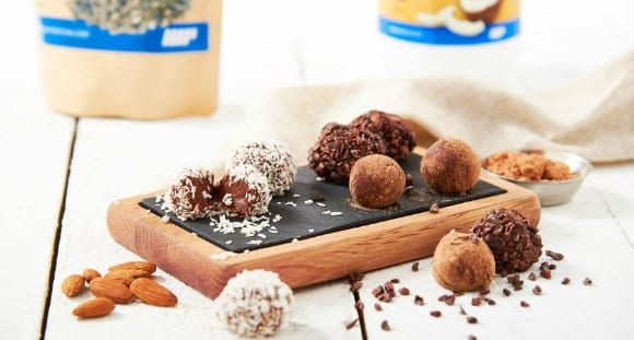 Healthy Chocolate Truffles | Protein Brigadeiro Treats