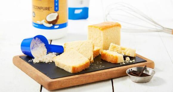 Protein Sponge Cake | Bolo De Fubá Recipe