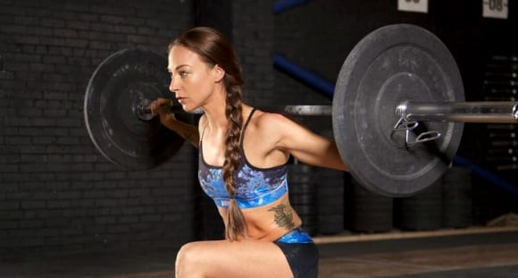 female weight lifting