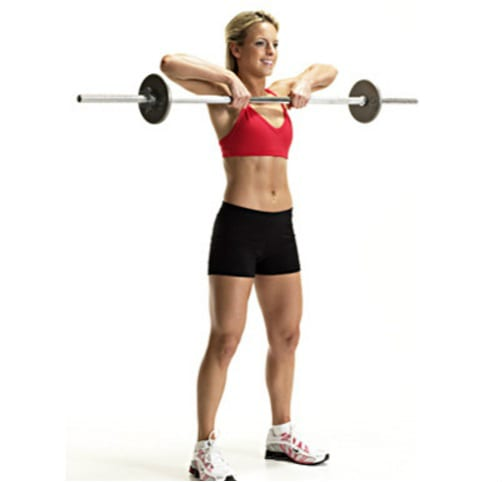 barbell upright-row