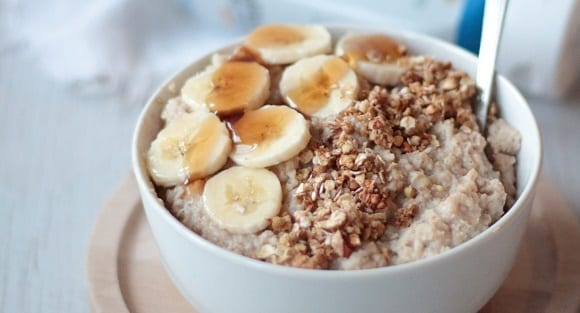 Cinnamon & Millet Flake Porridge | High Fibre Breakfast