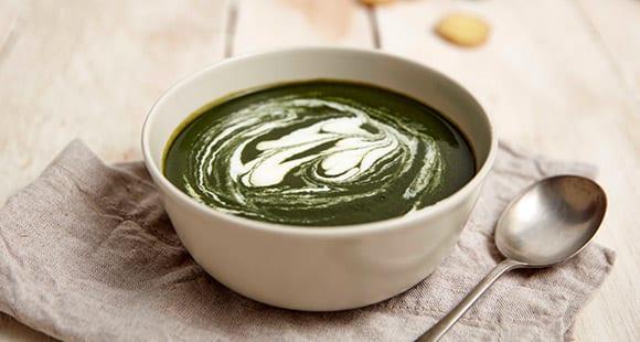 100% Organic Spirulina & Cauliflower Soup